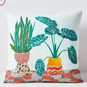 Garden Pillow Cover-NWT-Beautiful Embellishments